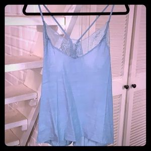 Tops - 💙Blue top with lace top💙